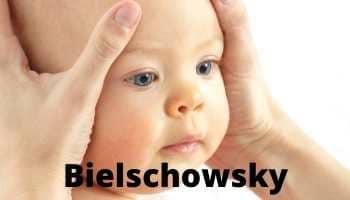Maniobra de Bielschowsky