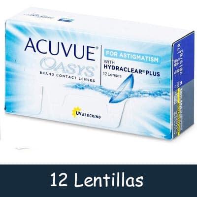 Lentillas Acuvue Oasys Astigmatismo