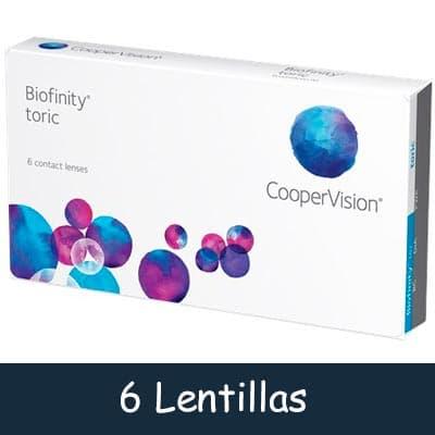 Lentillas Tóricas Biofinity