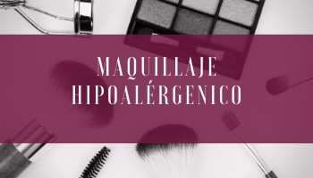 Maquillaje hipoalérgenico