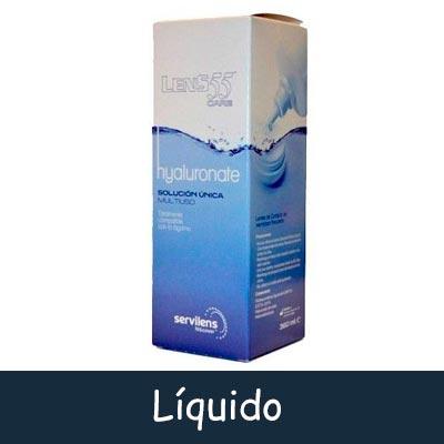 líquido de lentillas